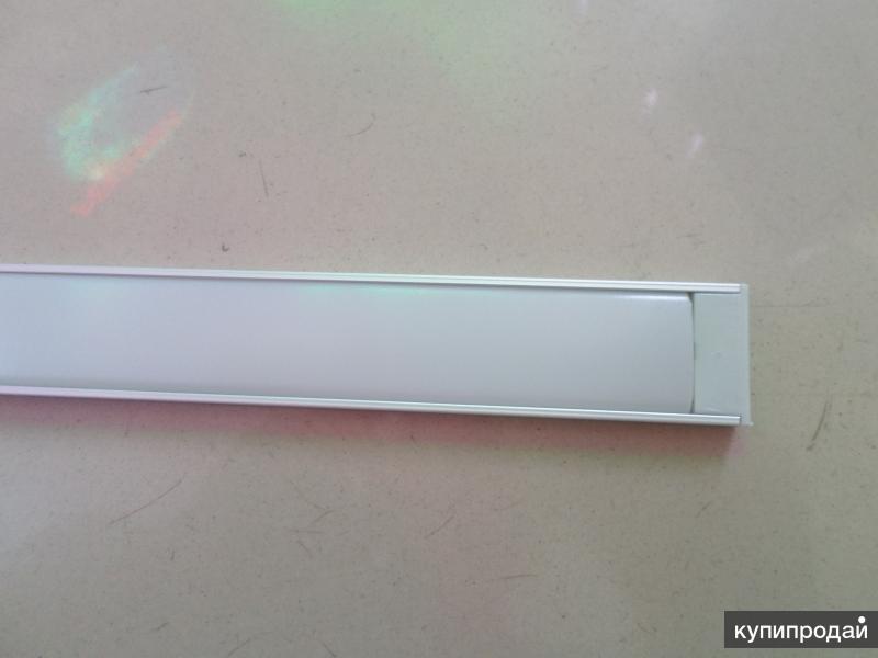 Алюминиевый профиль 2006/x2 для 2х-рядной ленты.