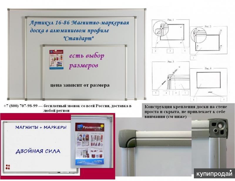 Магнитно-маркерная доска - многофункциональный инструмент