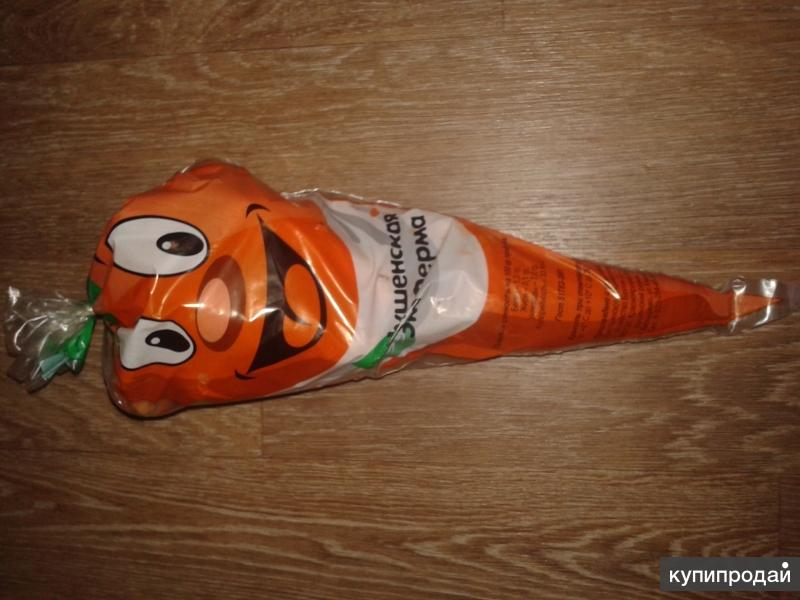 Продам оптом Морковь мытая, фасованная