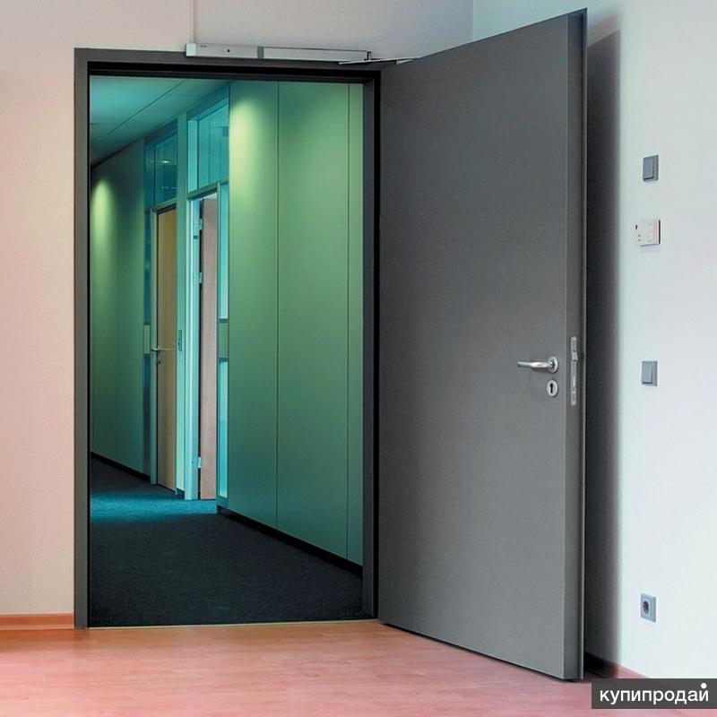 дверь стальная офисная