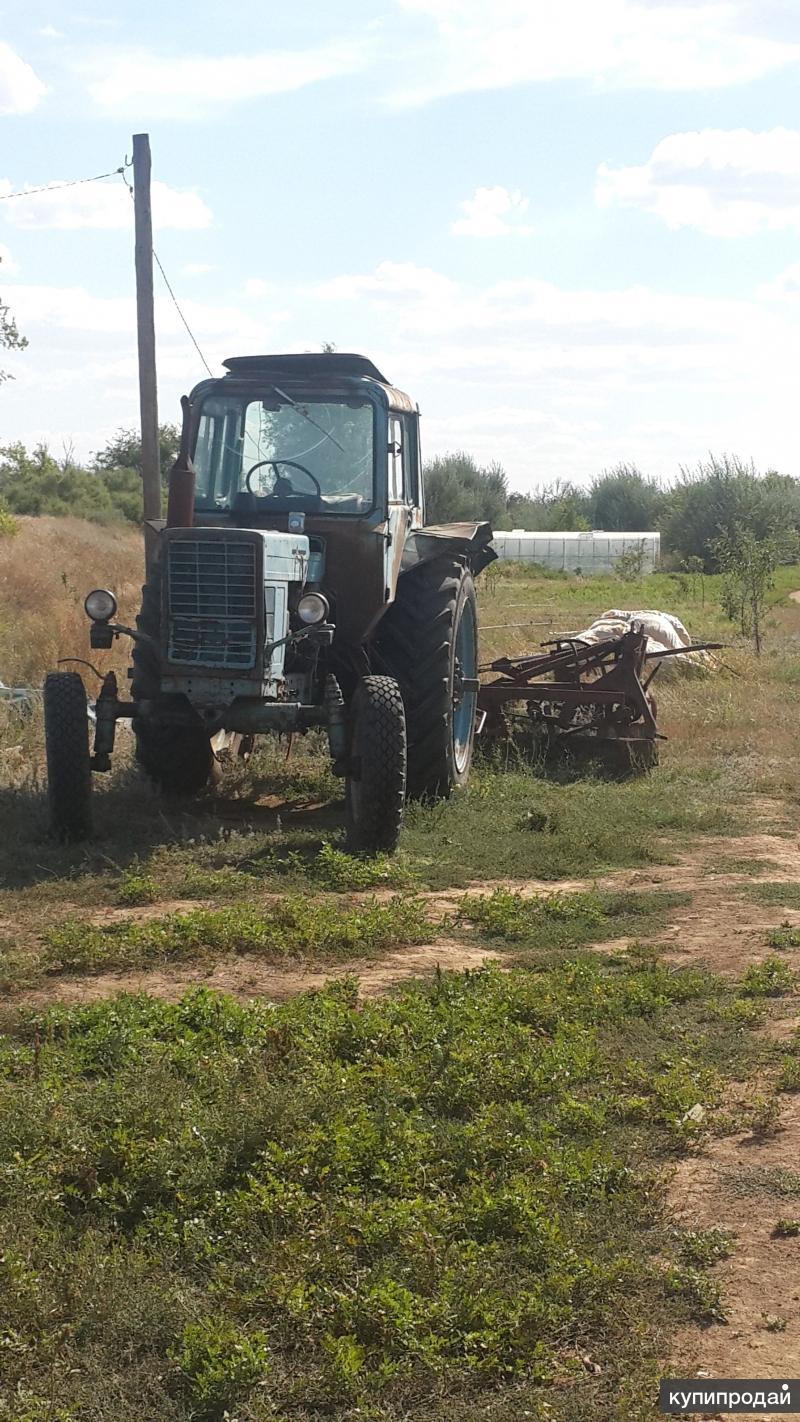 Трактор б/у МТЗ-80