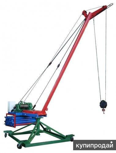 Кран для перемещения и подъема груза КЛ-3