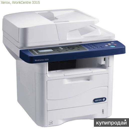 Новый МФУ Xerox WorkCentre 3315