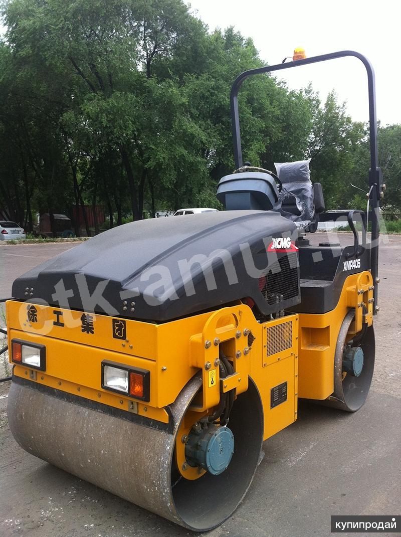 Продам 4-х тонный двухвальцовый каток XCMG XMR403.