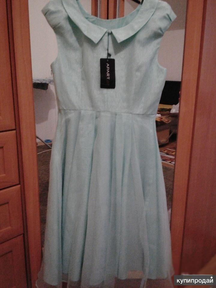 Новое нарядное платье APART 46 размера
