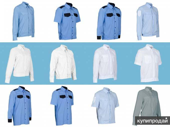 Продажа фирменных рубашек.