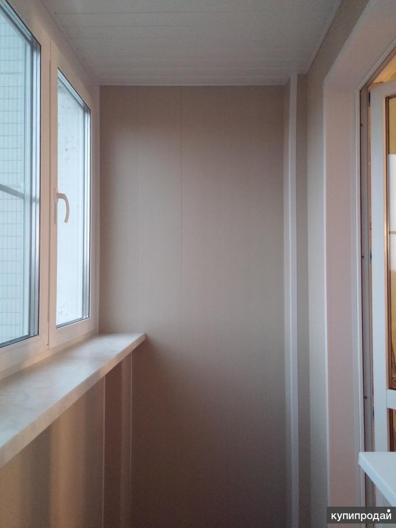 Остекление, утепление, обшивка балконов и лоджий москва.