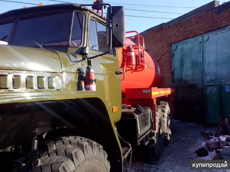 Автоцистерна АТЗ 10 на шасси Урал 4320-1912