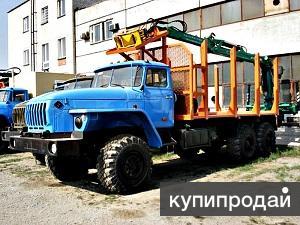 сортиментовозный тягач на шасси Урал 4320