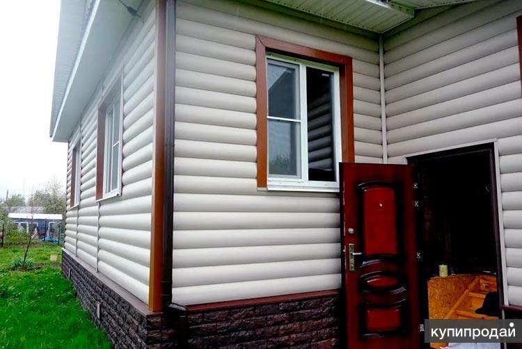 Утепление дома с отделкой сайдингом в Пензе, бригада
