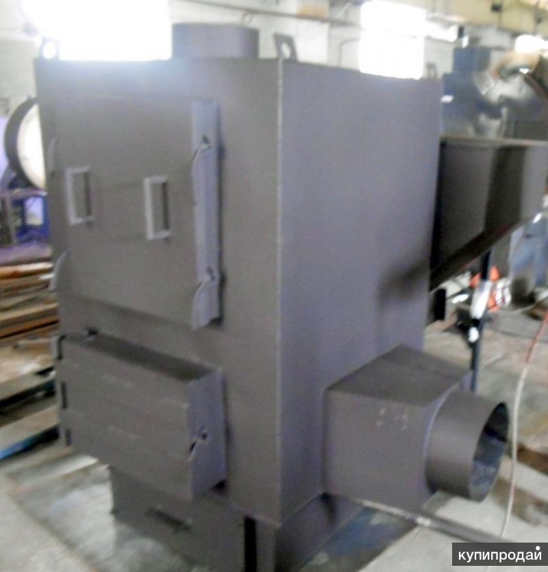 Теплогенератор пеллетный 55 кВт HG GRV вихревой