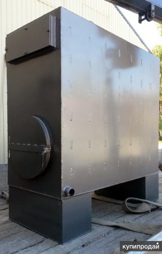 Котел твердотопливный 35 кВт пиролизного горения