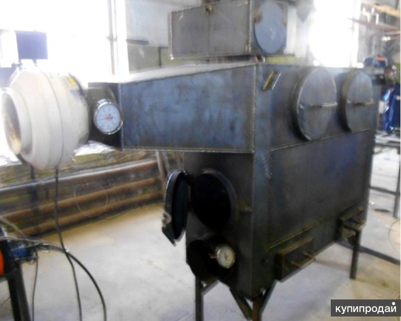 Пушка отопления на твердом топливе 50 кВт
