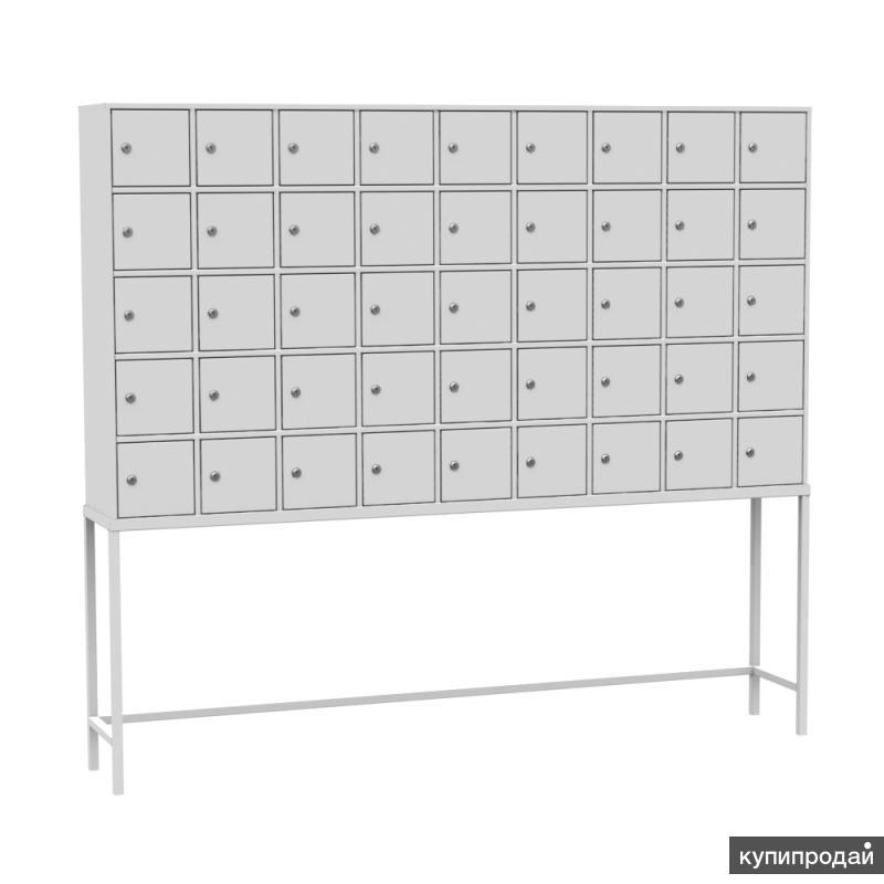 Шкаф абонентский на подставке (45 ячеек) ТИП-2 (без окошек)