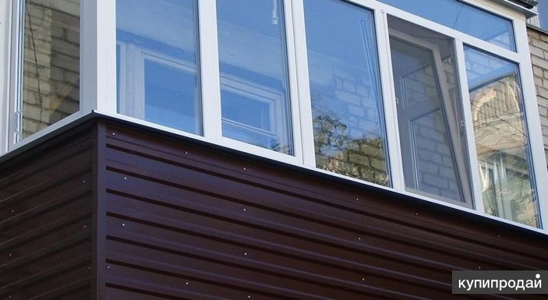 Остекление, отделка балкона и лоджии в воронеже. воронеж.