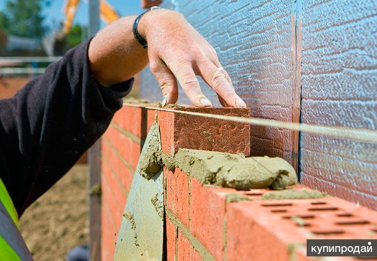 Кладка кирпича и пеноблоков, строительство каменных домов в Пензе