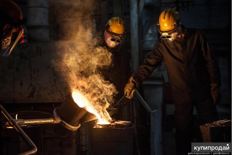 Предлагем услуги по литью стальному, чугунному, литье из алюминия, бронзы
