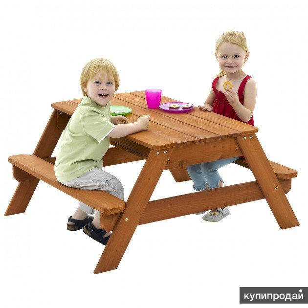 Детская песочница-стол - 2