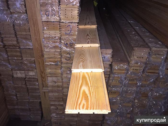 Штиль из лиственницы сибирской 14х145х1000мм Экстра