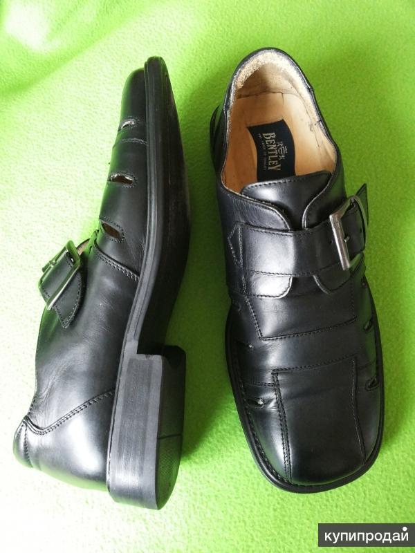 Туфли мужские летние Bentley Италия