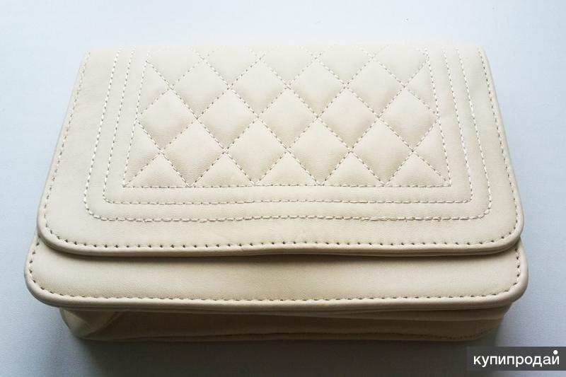 Новая женская стеганная сумочка (клатч)