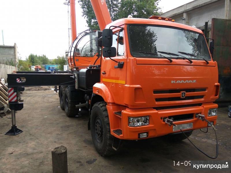 Автокран Клинцы КС 55713 5К-4, 25 тн.,  2016 г.в., Камаз 43118