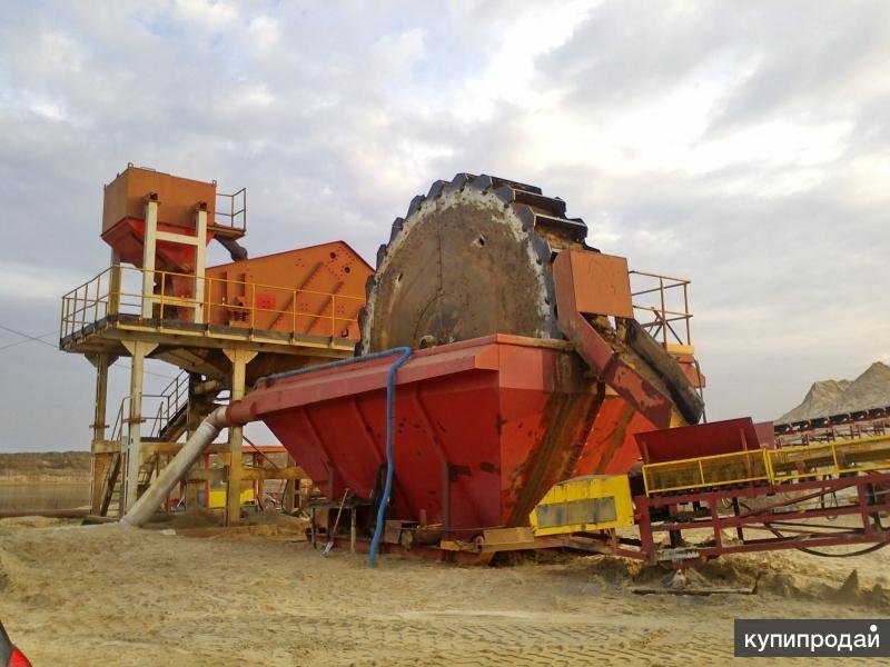 Оборудование для добычи песка и гравия