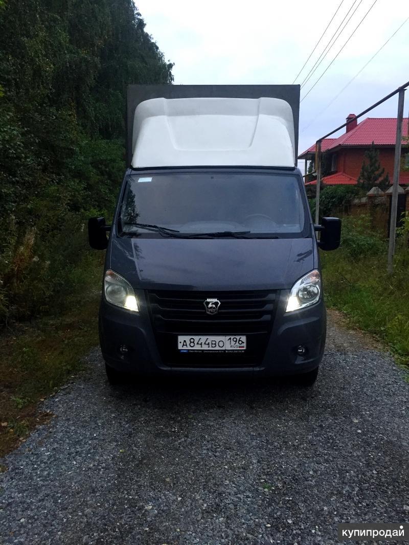 ГАЗ A21R32 Next удлиненный фургон 2013 г