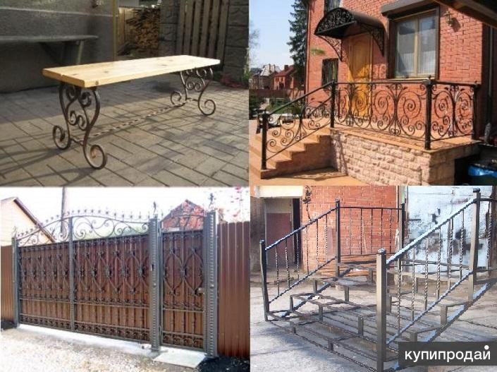 Изделия и конструкции металлические. Оперативно изготовим, доставим и установим