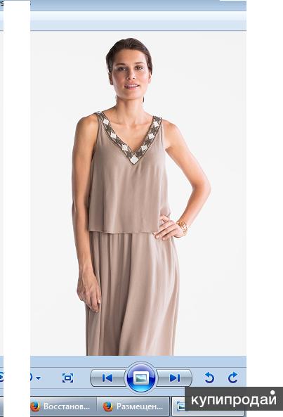 Новое платье из Германии (наш 42-44 размер) Вискоза