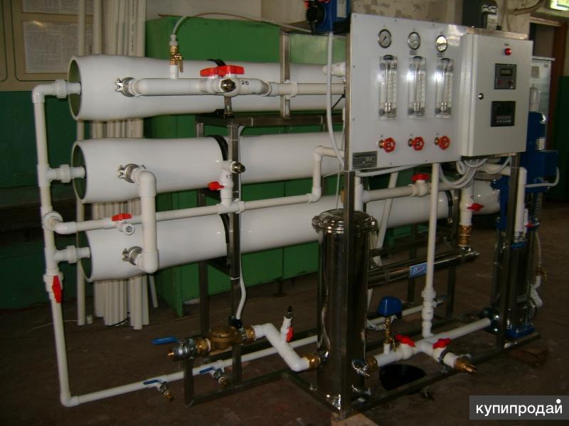 Установка опреснения морской воды Сокол 10 куб/час
