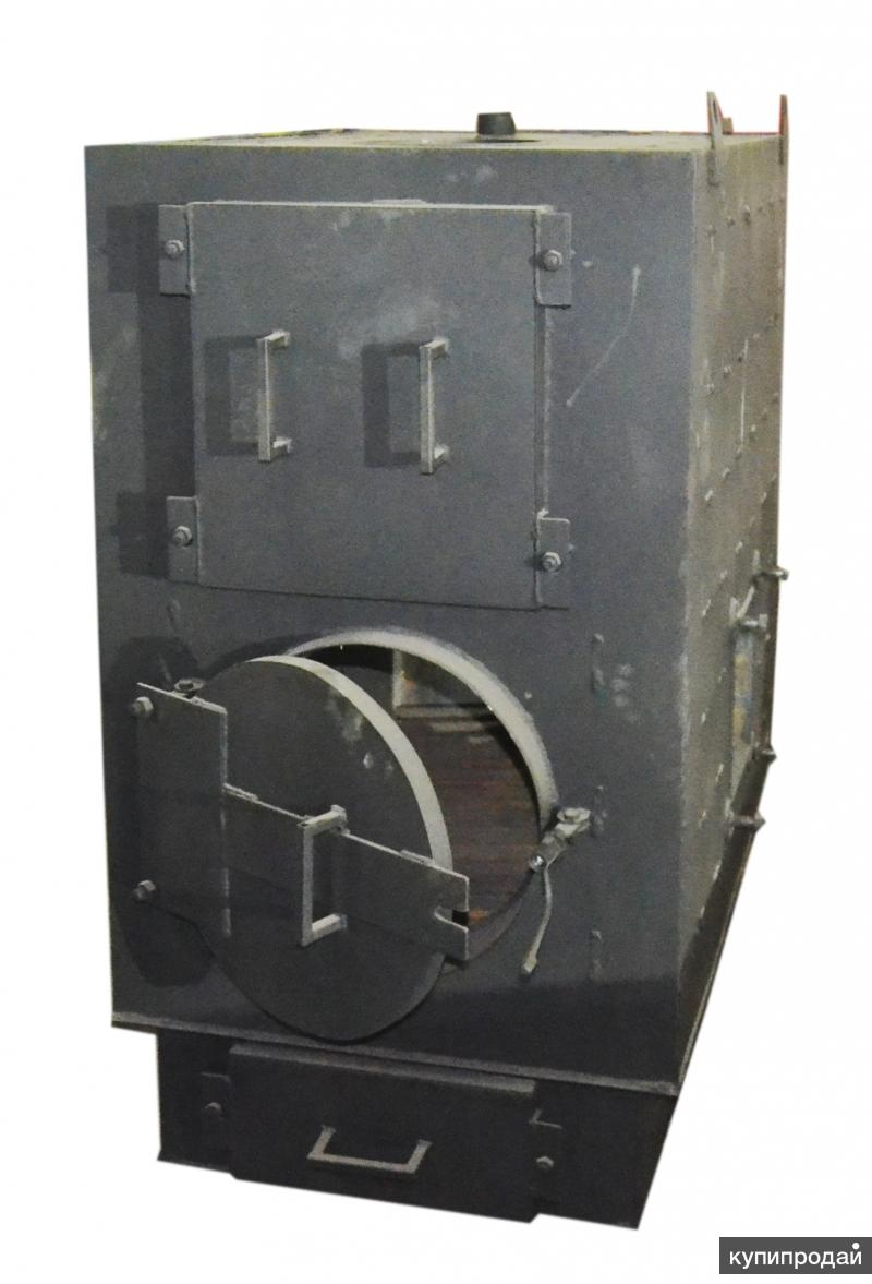 Теплогенератор твердотопливный 80 кВт