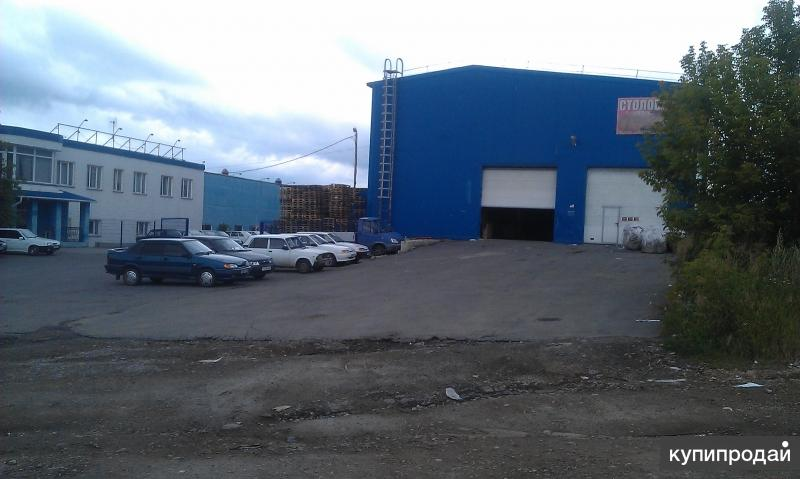 Продажа производственно-складской базы, или часть базы