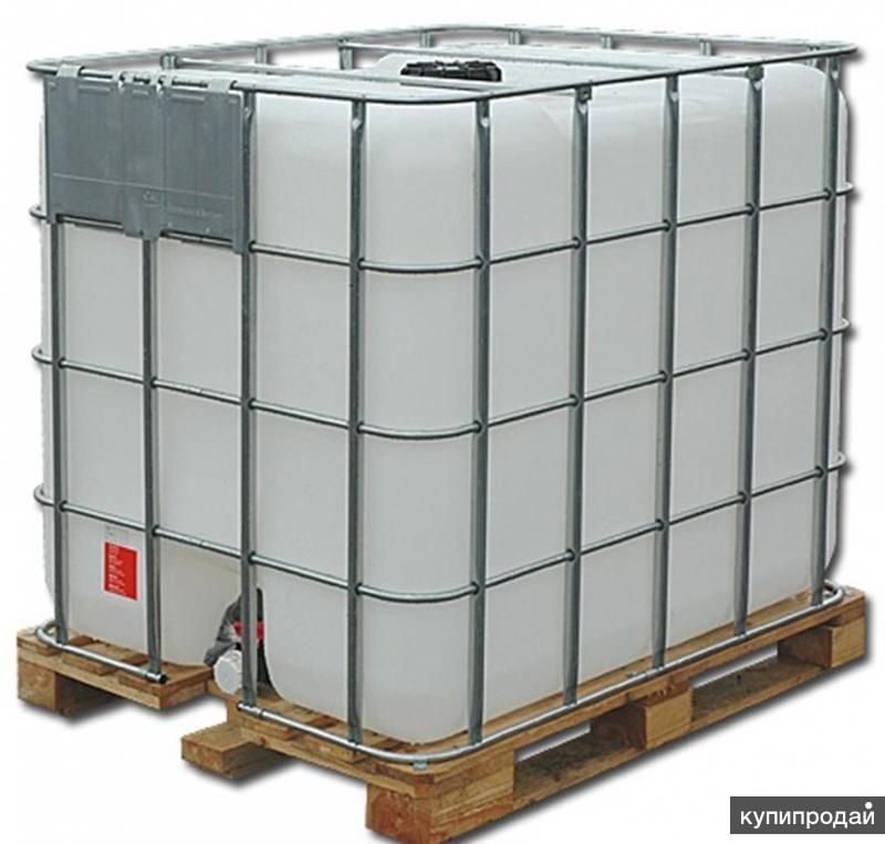 Еврокуб 1000 литров, из-под ПВА, промытый
