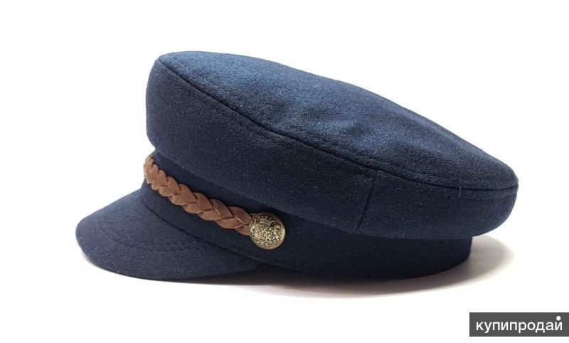 Кепка капитанка мужская (шерсть) SEA