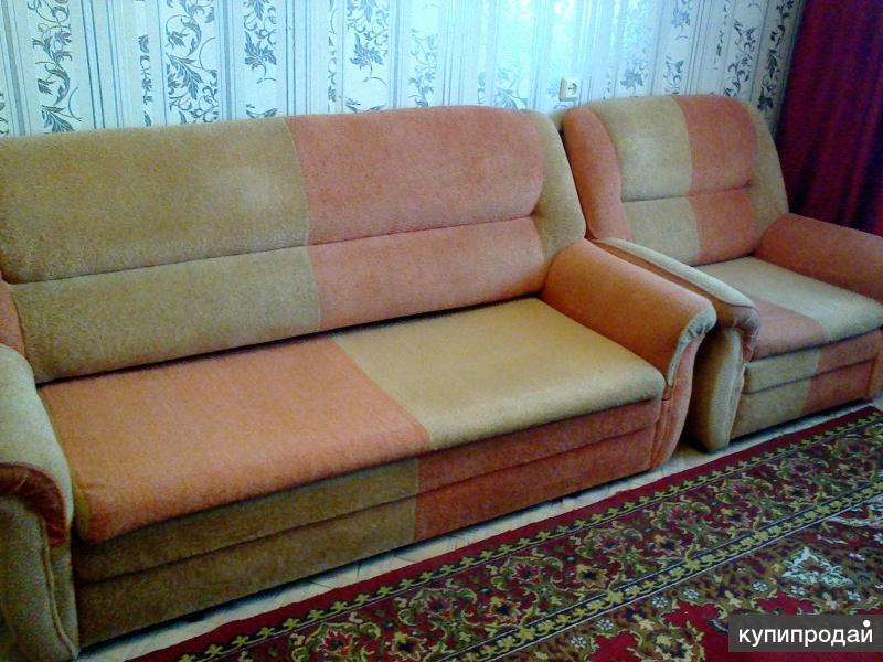 продаётся диван и два кресла