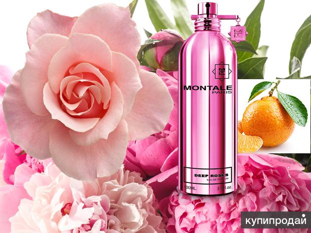 MONTALE DEEP ROSE eau de parfum 100 мл