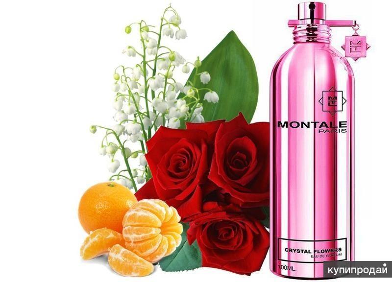 MONTALE CRYSTTAL FLOWERS eau de parfum 100 мл