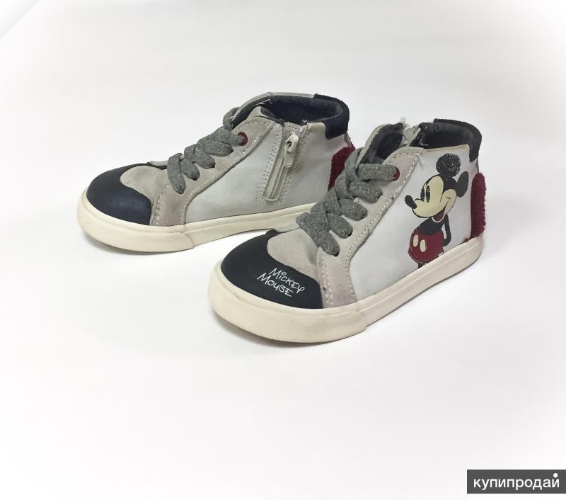 Кеды ботинки Zara Baby