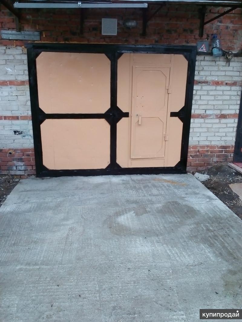 Продам теплый гараж с землей