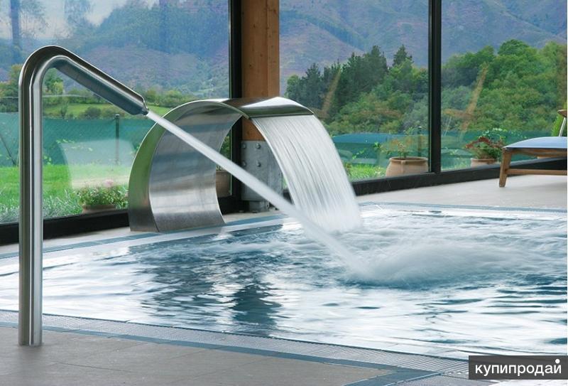 Водопады, гейзеры и водяные пушки для бассейна