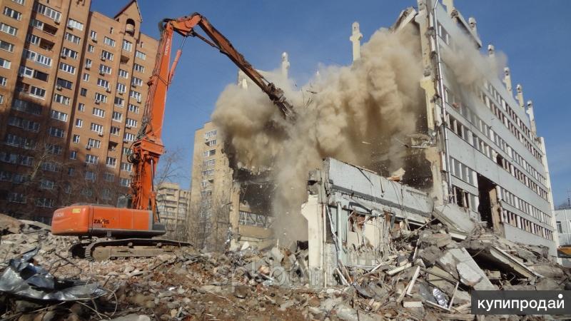 Снос и демонтаж различных сооружений домов, гаражей