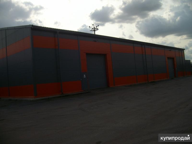 Сдается отапливаемый ангар площадью 756 м2 под автобизнес, производство, склад