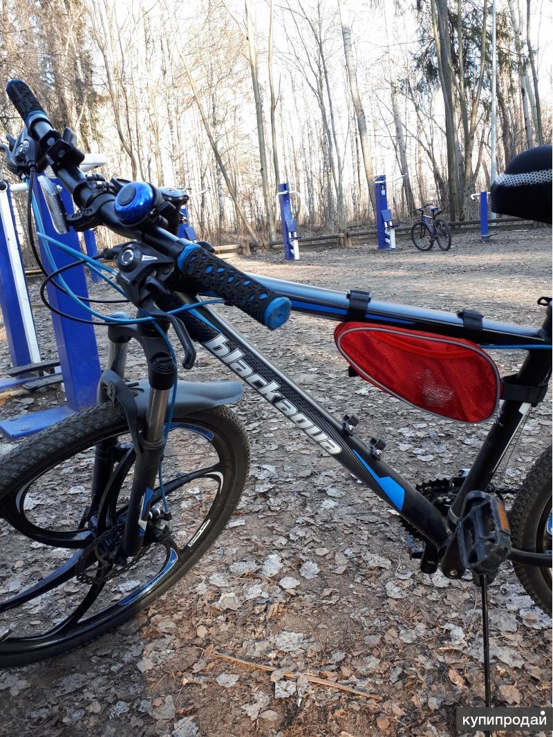 Велосипед Black Aqua на литье