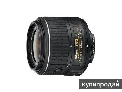 Продам объектив Nikon AF-S DX NIKKOR 18–55mm f/3.5–5.6G VR II KIT