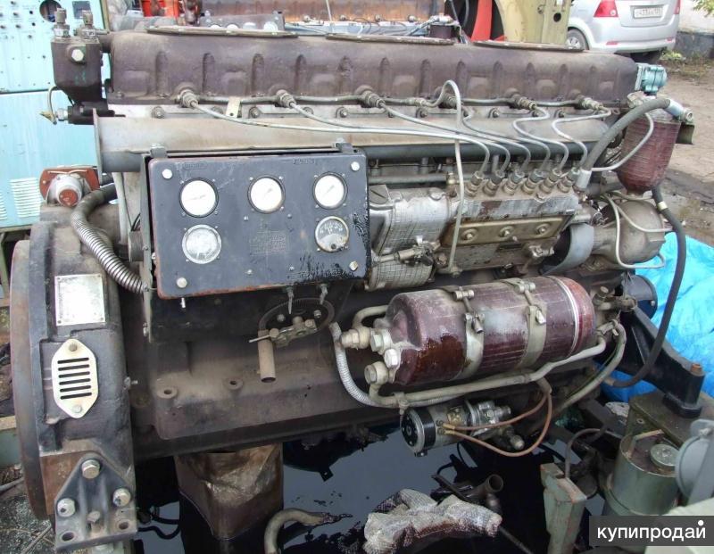 Дизель судовой 7Д6 генераторный