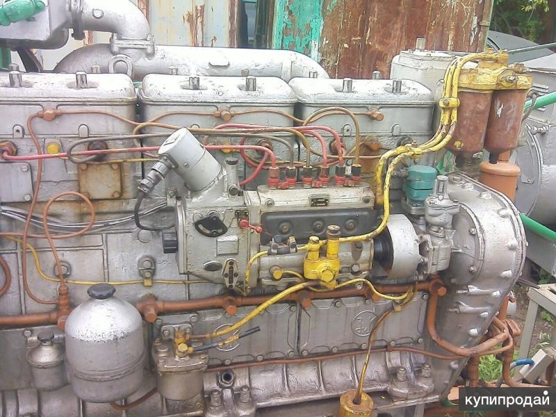 Дизель судовой 6чн12-14 генераторный