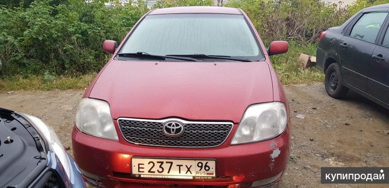 Toyota Corolla, 2003 срочно