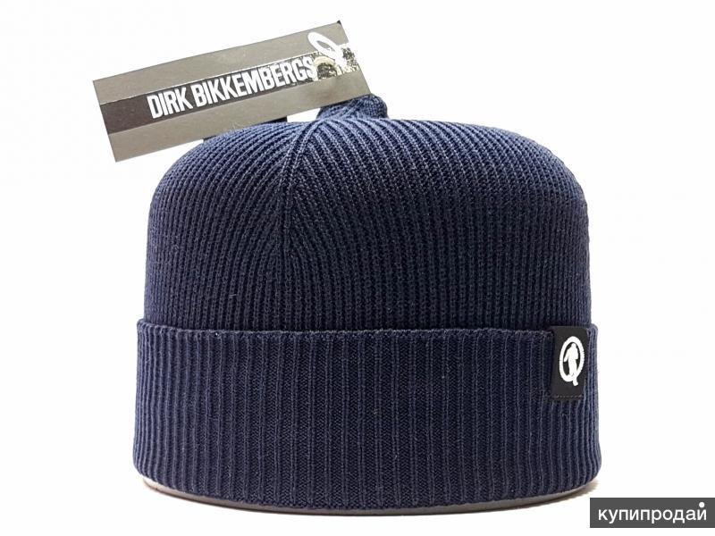 Шапка Dirk Bikkembergs синий