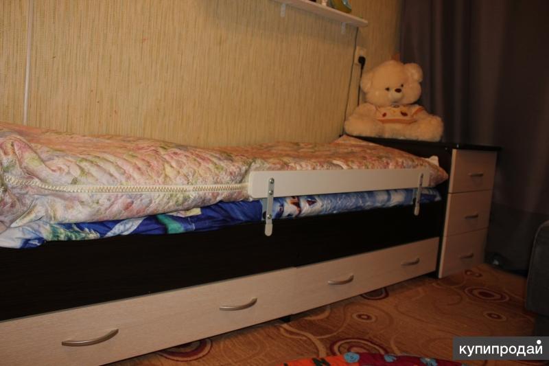 Кровать детская венге/клен